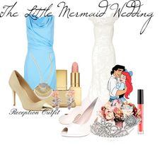 """""""The Little Mermaid Wedding"""" by cassidygearhart on Polyvore"""