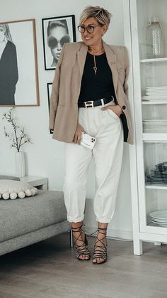 Hair Cuts, Hipster, Shop My, Style Inspiration, Womens Fashion, Casual, Outfits, Dresses, White Pants