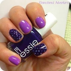 Purple Polka-Dot Perfection <3 Essie Play Date & No More Film with Funky Fingers Paparazzi