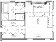 Best Floor Plan For A 8X14 Bath And 11X13 Bedroom House 640 x 480
