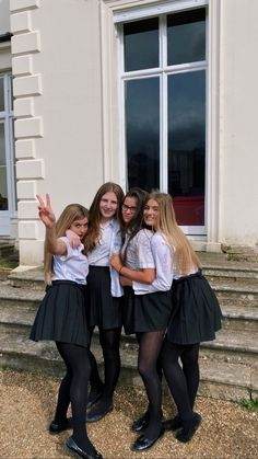 School Girl Outfit, Girl Outfits, Bridesmaid Dresses, Wedding Dresses, Talbots, Tights, Beautiful Women, Ballet Skirt, Friends