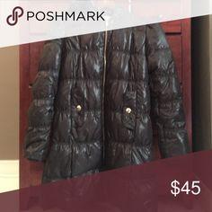 Michael Kors Puffer Coat Michael Kora Puffy Coat with hood. Has a shine to it MICHAEL Michael Kors Jackets & Coats Puffers
