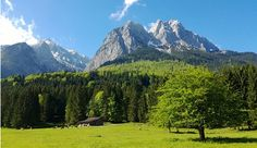 Zugspitze-when I was there one summer, there was a raging snowstorm at the top of the lift.