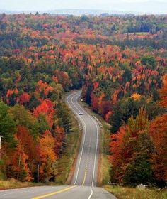Maine en el otoño - hermosa increíble