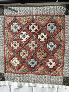 setting triangles and border