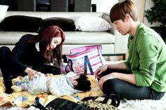 Monday Couple Moment: Song JI Hyo & Choi Jin Hyuk Babysitting Baby Gook in 'Emergency Couple'