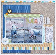 Fun In The Mud..by Brook Stewart..Birthday Boy collection