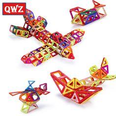 Mini 252Pcs/Set Models & Building Toy Magnetic Designer Educational Building Blocks Plastic Assemble Enlighten Bricks Kids Toys #Affiliate