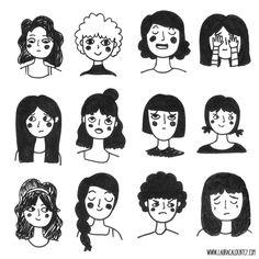 Ahh! Girl drawing. So cute.