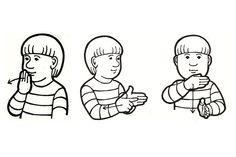 Hyvää viikonloppua (Kuva: Elina Vanninen) School Signs, Sign Language, Crochet, Fictional Characters, Ganchillo, Fantasy Characters, Crocheting, Knits, Chrochet