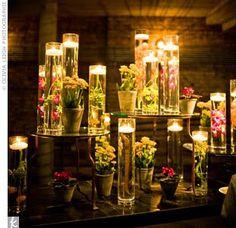 romantic centerpiece idea