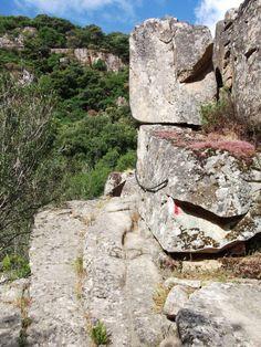 Il sentiero per la cascata di S'Ega Sizzoris