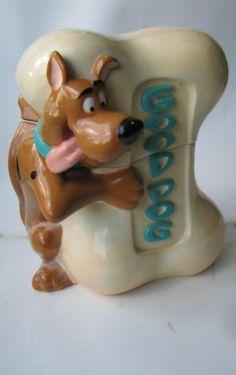 *SCOOBY DOO GOOD DOG ~ Cookie Jar