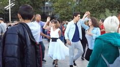 Tango along the Seine at Jardin Tino Rossi, Paris, France - Walking...