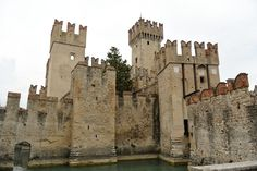 Sirmione medieval castle - Scaglier at Garda lake. One of the gems in north of Italy that must be seen.