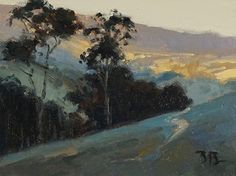 Brian Blood - Valley Light Oil 6 x 8