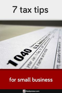 small business tax tips