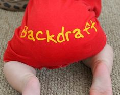 baby firefighter backdraft-for when my brother has kids! Firefighter Mom, Firefighter Baby Showers, Firefighter Pictures, Firefighter Quotes, Volunteer Firefighter, Everything Baby, Baby Boy Nurseries, Baby Boy Outfits, Family Outfits