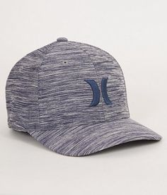 252aa68f9aa Hurley One   Textures Stretch Hat - Men s Hats in Obsidian Heather