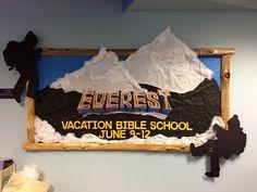 Fun 3D advertisement for Everest VBS