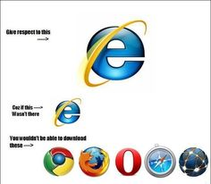 30 Best Internet Explorer Jokes And Funny Pictures Images Internet Explorer Jokes Funny Pictures Internet Explorer