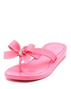 7534afe676180 Guess Tutu flip flops Pink Flip Flops
