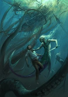 Post with 960 votes and 72106 views. Tagged with art, awesome, dragon, creativity, dump; Mostly fantasy art dump Dark Fantasy Art, Fantasy Artwork, Fantasy Kunst, Fantasy Girl, Dark Art, Magical Creatures, Sea Creatures, Mermaids And Mermen, Real Mermaids