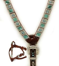 Western Bridle Headstall Horse Tack Rhinestone Bling SHOW RODEO LEATHER Atlas picclick.com