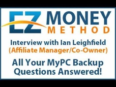 My PC Backup: How it works Interview With Ian Leighfield. Learn how you can make $150 for every $6 sale.