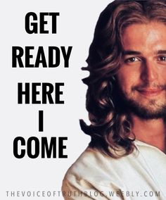 Get ready! Jesus is coming! Love You Papa, Matthew 24, Jesus Is Coming, Jesus Pictures, Get Ready, God Jesus, Amen, Christ, Told You So