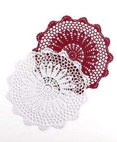 Medallion Crochet Placemats