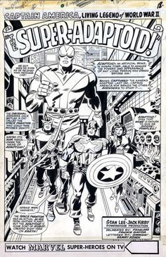 Image of Jack Kirby (Captain America, Avengers) - Comic Vine
