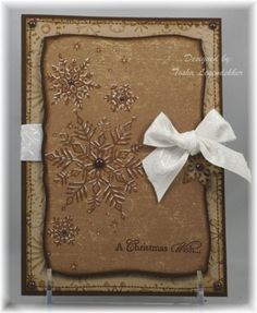 Chocolate Flakes TLL by stamps4funinCA - Cards and Paper Crafts at Splitcoaststampers