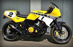 FZ 750 Genesis Restomod cafe racer