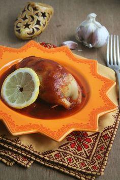 Calamars farcis à la marocaine 1