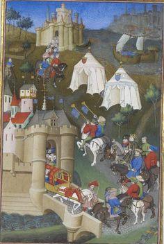 Pierre Salmon, Réponses à Charles VI.., 1409-1410, 54r http://www.europeanaregia.eu/en/manuscripts/paris-bibliotheque-nationale-france-mss-francais-23279/en