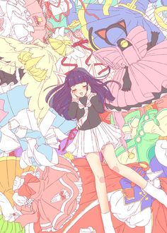 Tomoyo and her designs!