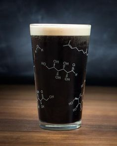 Beer Chemistry Pint Glass - Cognitive Surplus - 1