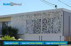 The Decorative Screens Direct Gallery showcases many of the laser cut screen projects we have completed over the years. Laser Cut Aluminum, Laser Cut Steel, Outdoor Screen Panels, Window Panels, Balcony Railing Design, Laser Cut Screens, Grades, Decorative Screens, Exterior Cladding
