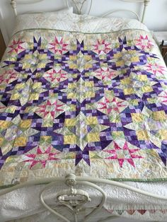 En Provence Patchwork Quilt designed by Bonnie Hunter £99.00