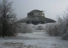 Nazi Flying Saucer Haunebu III by Deepskyer on DeviantArt Navy Aircraft, Military Aircraft, Military Personnel, Military Vehicles, Aliens And Ufos, Ancient Aliens, Air Fighter, Fighter Jets, Hollow Earth
