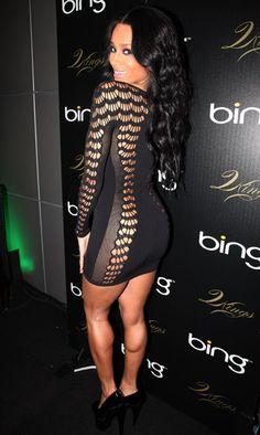 Clothing : Bodycon Dresses : 'Mark' Longsleeve Black Cut Out Bodycon Dress