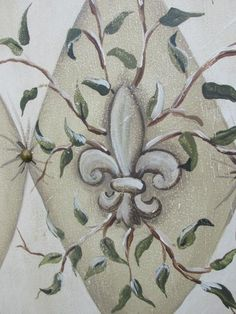 FRENCH STYLE HAND PAINTED ROOM DIVIDER SCREEN