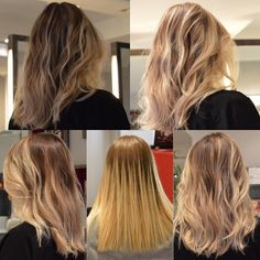 colorist michelfury and stylist mietomioka check out before after royteeluck bestbalayagenyc - Coloration Blond Me Schwarzkopf