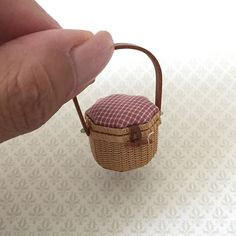2017. Miniature octagon Basket♡ ♡ By Keiko T.