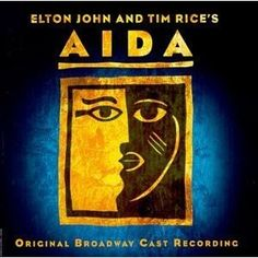 """In May 2000 Elton John & Tim Rice's Aida was nominated for 5 Tony Awards, later winning 4 including Elton's gong for """"Best Original Score Written for the Theatre"""". Musical Theatre Broadway, Theatre Shows, Broadway Plays, Broadway Shows, Aida Musical, Tim Rice, I Know The Truth, Ella Enchanted, Originals Cast"""