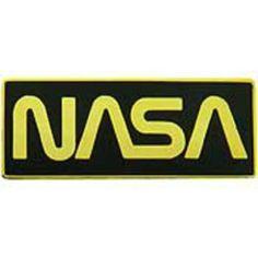 """Gold Color NASA Logo Pin 1"""" by FindingKing. $8.99. This is a new Gold Color NASA Logo Pin 1"""""""