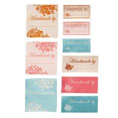 Etichette di stoffa Tilda - Spring Diaries