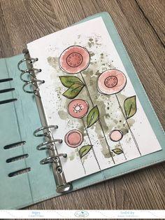 Using Stamps On Your Planner! Bullet Journal Art, Art Journal Pages, Art Journals, Junk Journal, Cute Planner, Planner Pages, Happy Planner, Cruise Scrapbook, Album Scrapbook