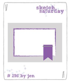 Sketch Saturday: Week #296 with Simon Says Stamp!